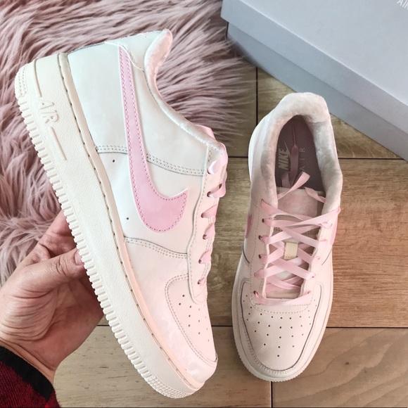 cc2e8a834f Nike Shoes | Air Force 1 Low Pink Off White Sz | Poshmark